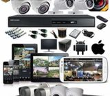CCTV Cameras,electric fence,razor wire,automatic gate,alarm system and access control