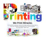 Graphic design, Digital and offset Printing Services