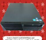 – Lenovo ThinkCentre M82 SFF PC  – 3.20GHz Intel 4th Generation Core i5-3470  – 4 Cores Processor  –