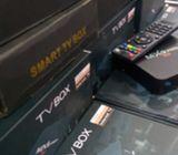 MXQ 4K Android 7.1 Smart TV Box amlogic Quad Core 32Bit UHD 4K tv box