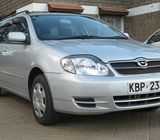 toyota fielder on sale call 0723754293
