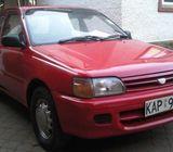 Toyota starlet @ 55K call 0759132998