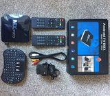 Smart android digital internet tv Box plus mini keyboard