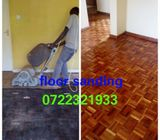 Floor sanding and polishing
