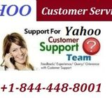 Quick Help at +1-844-448-8001 Yahoo Customer Service Number