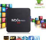 Hot MXQ PRO Quad Core Android 7.1 Smart TV Box 1+8GB HDMI WIFI 4K Media Streamer