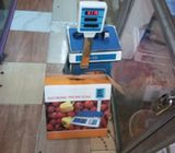 Electronic Price Computing Scale with Pole LCD(50kg)