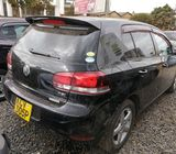 2012 Black Automatic Volkswagen Golf