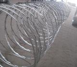 Double galvanized razor wire 450mm