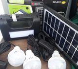 GD Lite solar lighting system kit (black)
