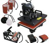 Combo Heat Press Machine - Black