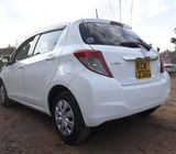 2012 White Automatic Toyota Vitz