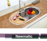 NEWMATIC Ultra Deep Bowl Kitchen Sink Spring 86