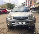 Toyota rav4 @ 350k call john 0717690889