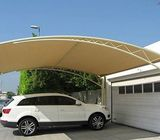 Modernized Car Parking Shade
