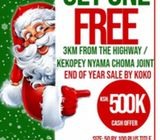 Buy one plot get another FREE!!
