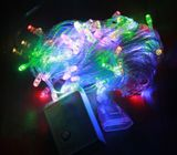 LED String Fairy Lights Wedding Party Spring Battery Decoration EU Plug new