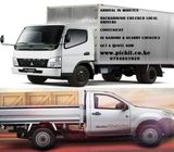HIRE A MOVING AND DELIVERY PICKUP, VAN OR CANTER IN NAIROBI