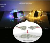 Leds Waterproof Fairy String Lights Party Wedding Color Lamp