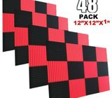 48 X Acoustic Foam Panels. Free Delivery Within NBI
