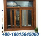 Utench anodized aluminum sliding window with mosquito netting