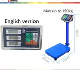 150kg/300kg Capacity Digital Weighing Platform Scale