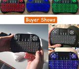 Mini Wireless Keyboard 2.4ghz English Arabic Russian Qwerty Touchpad