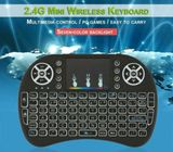 2.4ghz Mini Wireless Remot Mouse Touch Pad + USB Receiver For Smart TV