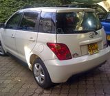 TOYOTA IST 2003 PEARL WHITE FOR SALE-072300608