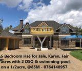 5 Bedroom Mansion for sale - Karen Fair Acres