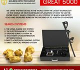 Great 5000 New metal detector technology