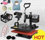 sublimation machine 8 in 1 combo heat press machine