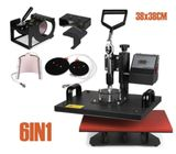approved 8 in 1 Multifunction combo heat press machine sublimation printing machine