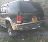 Used fordexplore 2002 YOM