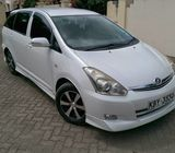 toyota wish on quick sale--0793587977