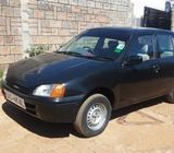 Toyota starlet on sale; 0716 747 172
