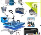 Advanced New Design 8 In 1 Combo Heat Press Machine 30 * 38