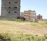 Thika Kibute prime 40x80 plot for sale@4.5m neg