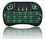 2.4GHz Mini Wireless i8 Keyboard 7 Colors Backlight Air Mouse For Android TV Box