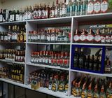 Spacious Wines and Spirits Shop for sale
