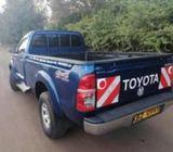 Toyota hilux KBZ 099y quick sale