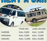 Affordable 4x4 Tour Van, Car Rental