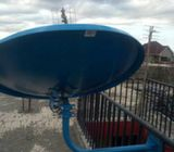 Satellite tv installation services.