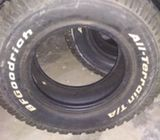 Goodrich Tyres for sale
