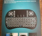 iPazzPort Wireless Mini Keyboard with Touchpad for Android TV Box and Black