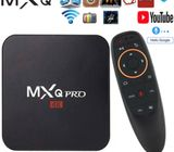 TV BOX 4GB ram 32GB android 10 wifi internet smart tv full hd 1080p mxq pro 4k