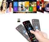 3 in 1: 2.4G wireless Keyboard and mouse, 6-Axis Somatosensory and Infrared remote control