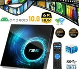 T95 4K TV BOX Android 10 CORE 4GB+128GB 2.4/5G WIFI HDMI 3D Home Media Streamer