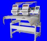 2 Heads 9 Needles Small Tubular Embroidery Machine , Servo Motor