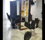 Salon for Sale. Complete and ready to  trade